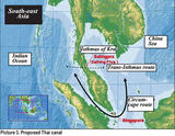 Thai Canal, formally known as Kra Isthmus is a plan to construct a canal across southern Thailand